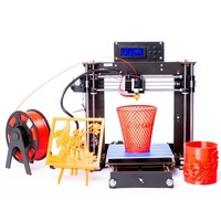Impressora 3d 3D Printer Reprap Prusa i3 A8 Mother Board MK8 DIY Kit + Software + Product manual Power Failure Resume Printing