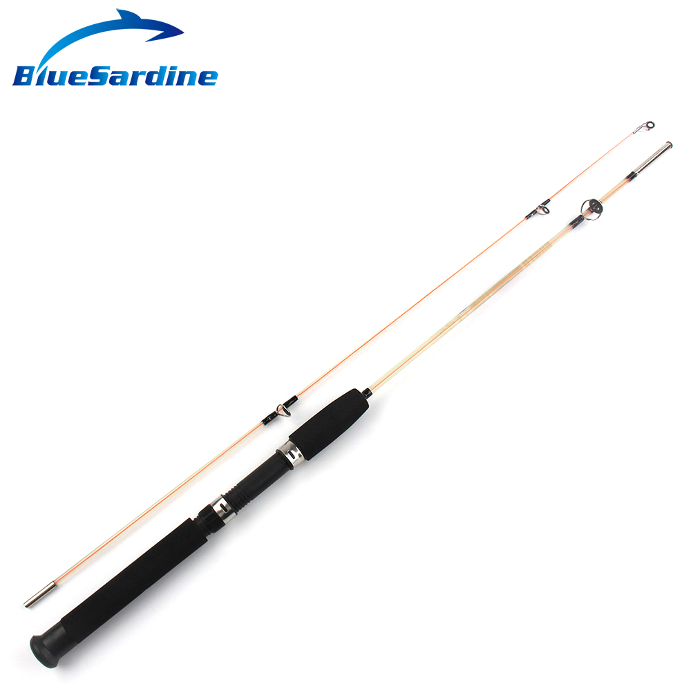 Bluesardine transparent solid fiberglass ice fishing rods for Big 5 fishing rods