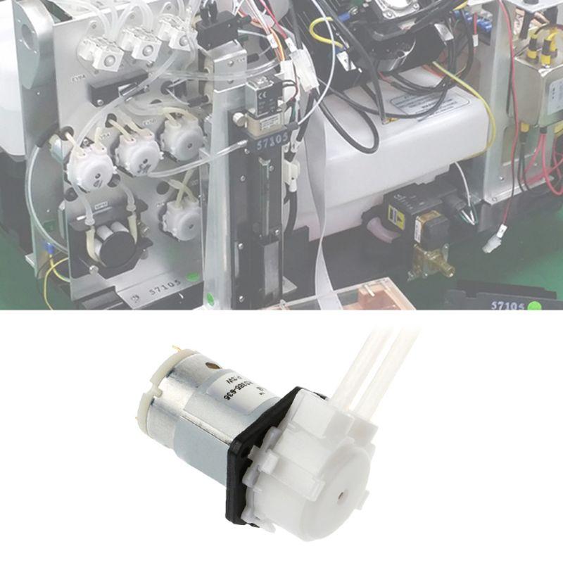 VertrauenswüRdig Dc 12 V D3 Peristaltische Dosierung Pumpe 3x5mm Diy Kopf Rohr Für Lab Analytische Flüssigkeit GläNzende OberfläChe Home