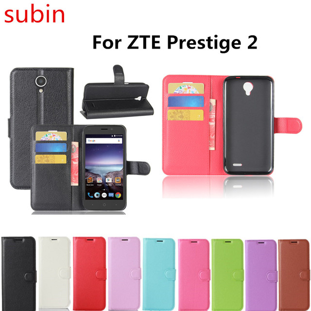 Hot Selling ZTE Prestige 2 N9136 Case Wallet Style PU Leather Book Cover For ZTE Prestige 2 N9136 Phone Cases with Card Holder