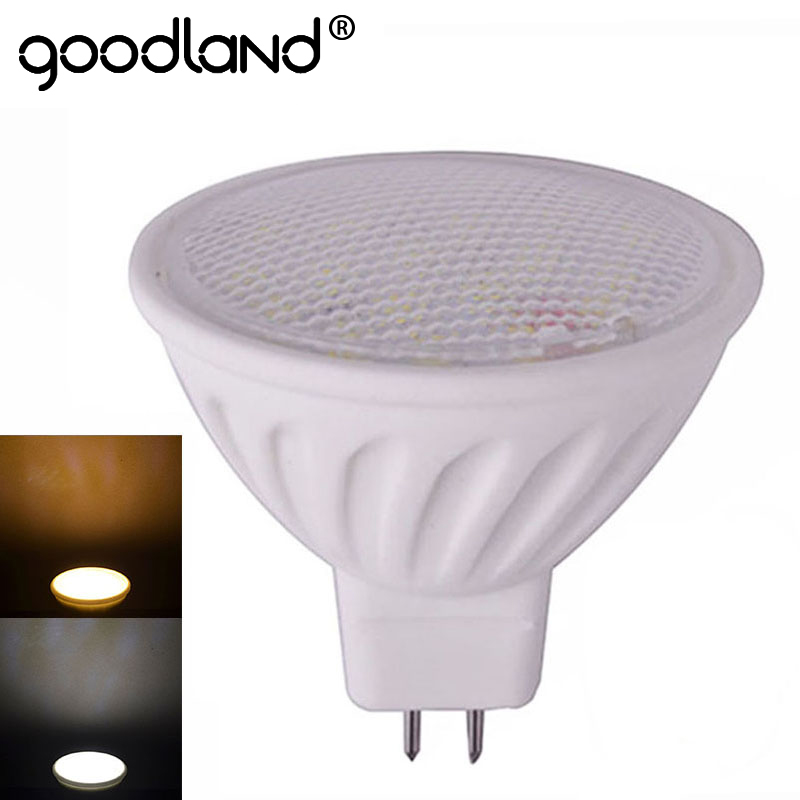 Goodland LED Lamp MR16 LED Spotlight Dimmable LED Bulb Ceramic Chandelier 12V 9W SMD5730 For Living Room Bedroom Lighting