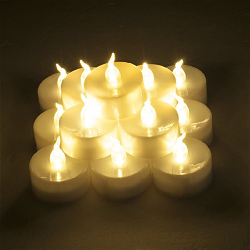 100 pcs amber christmas led candles 100 pcs lot color changing flame battery tea lights 100 in candles from home garden on aliexpresscom alibaba group