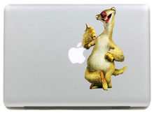 Grappige Mol Vinyloverdrukplaatjesticker voor DIY Macbook Pro/Air 11 13 15 Inch Laptop Case Cover Sticker(China)