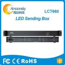 6 Karte externe Senden Box installiert 6 Stück ts802d msd300 senden Karte für große LED-Bildschirm Spleißen