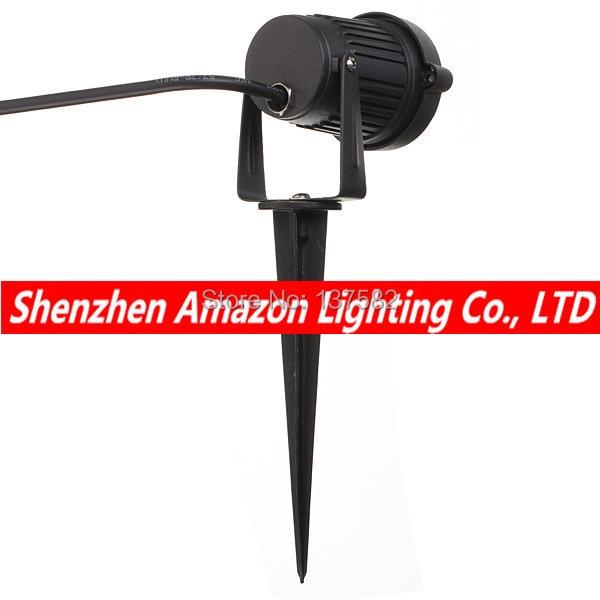 Luz de led profissional para jardim, lâmpada