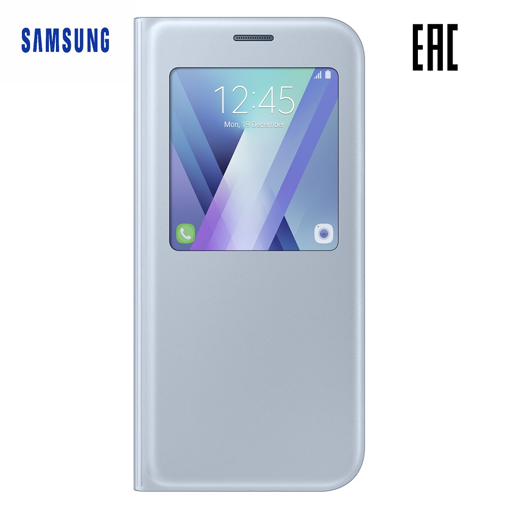 Case for Samsung S View Standing Cover Galaxy A7 (2017) EF-CA720P Phones Telecommunications Mobile Phone Accessories mi_32803470