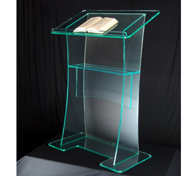 Hot Sell Pulpit Stand Acrylic Podium Acrylic Church Podium/Pulpit For Sale Clear