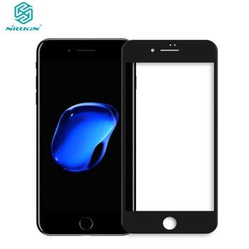 원래 nillkin 전체 커버 강화 유리 아이폰 8 9 h 0.23mm 화면 보호 필름 아이폰 8 플러스 강화 유리