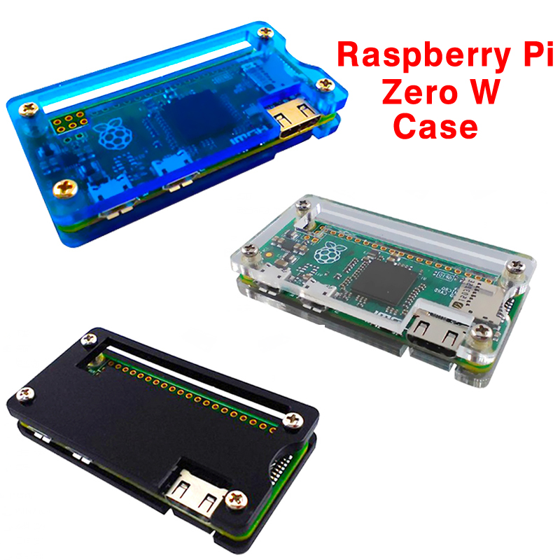 3 Colors Raspberry Pi Acrylic Zero Case Shell Acrylic Case Protection Box