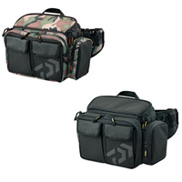 Multi purpose fly fishing trackle bag 19*30*14cm Black Portable fishing lure bag bolsa de pesca bag for fishing