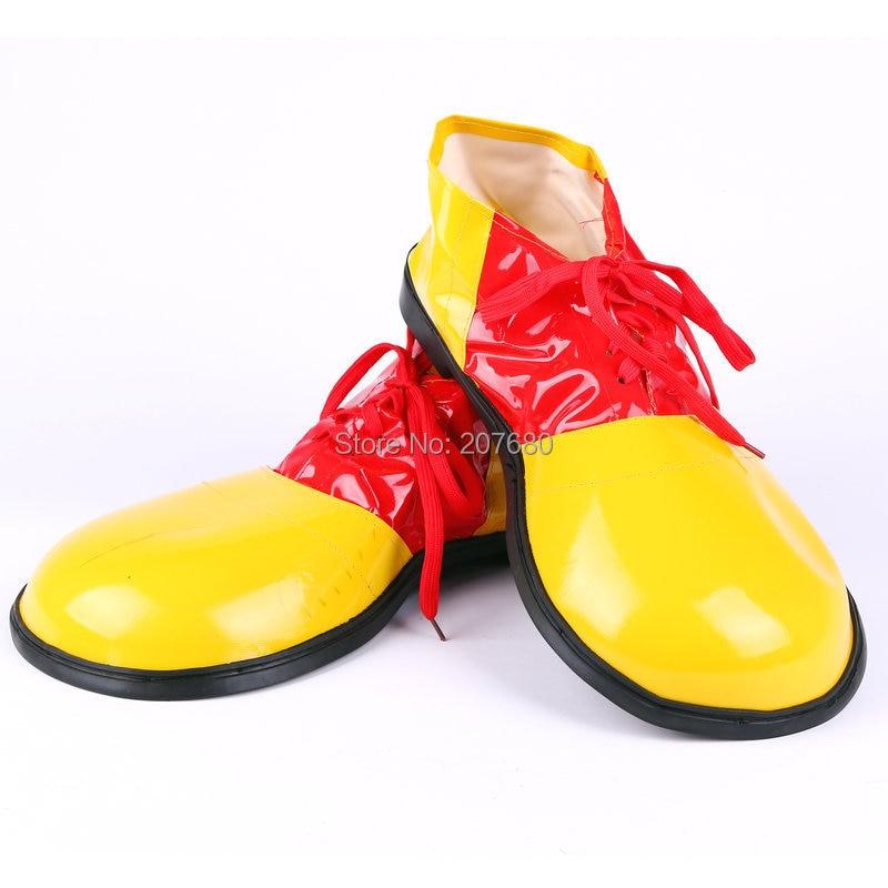 Costumes /& Accessories Props Kits Dress Up Clown Funny Feet Jumbo Clown Shoes