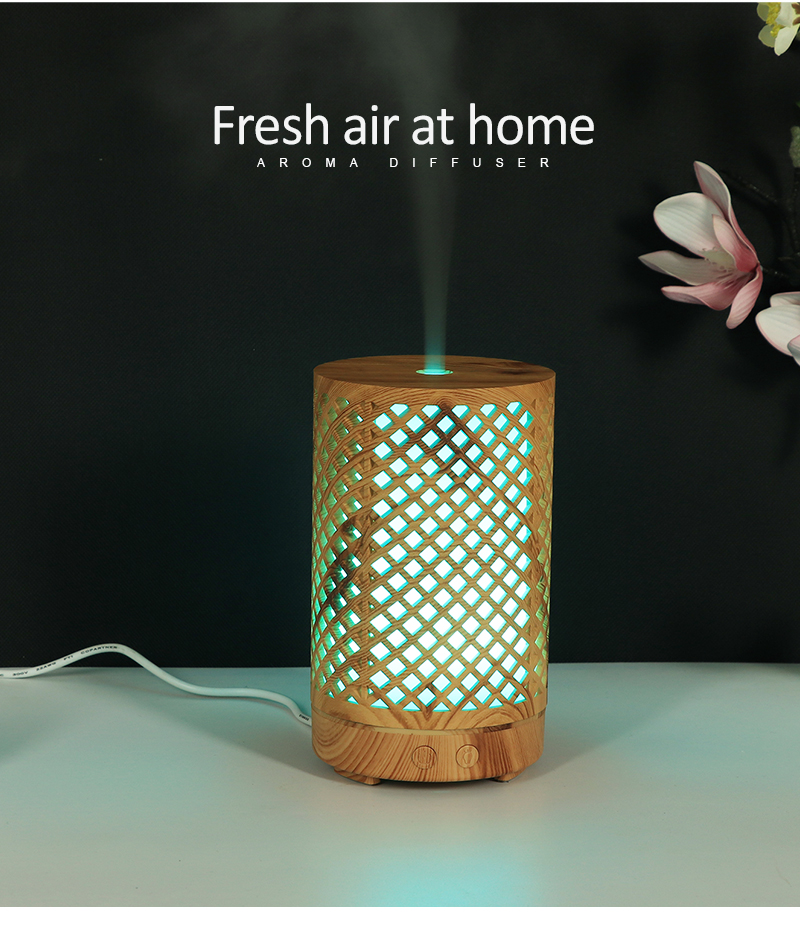 Бамбуковый увлажнитель воздуха 100 мл диффузор эфирного масла