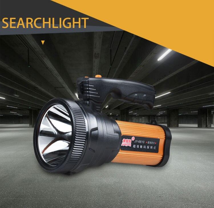 carregamento super brilhante homehold led portátil pesca luz 10 w lanterna searchlight