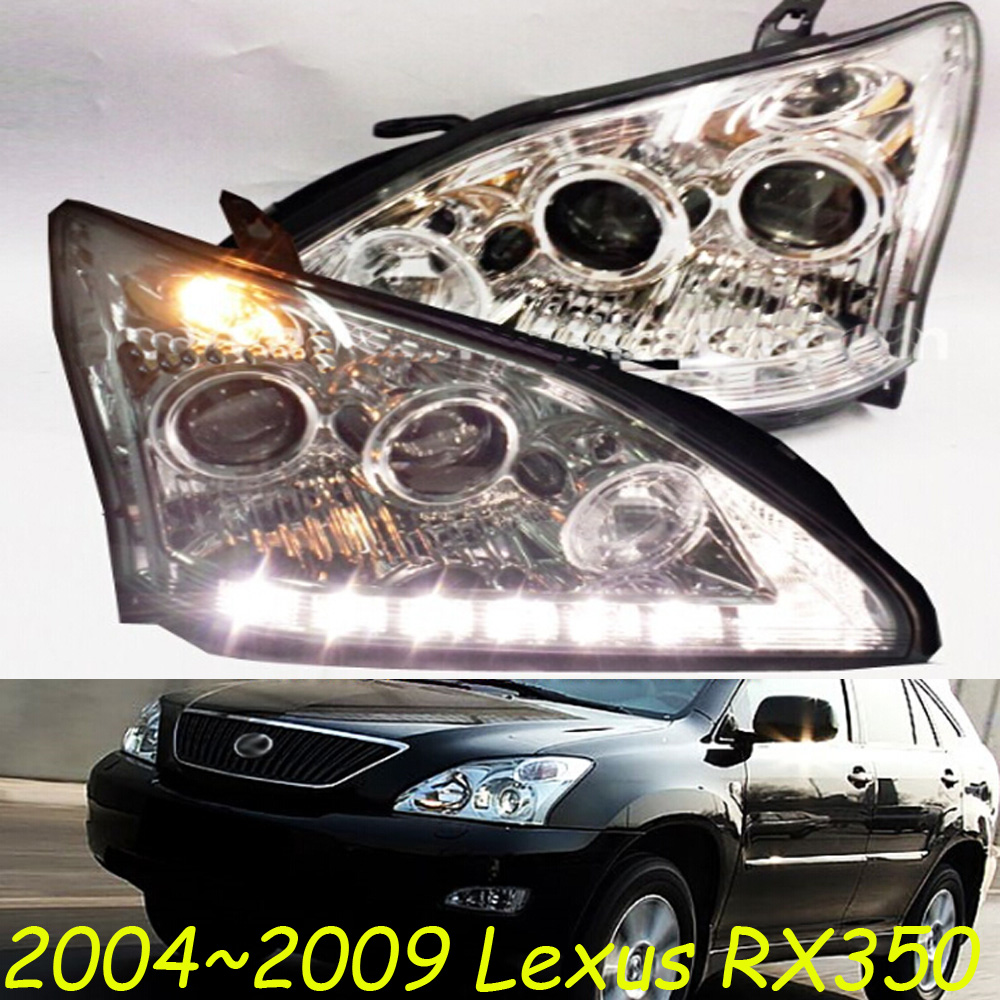Lexu RX350 headlight,IS300,2004~2009,Fit for LHD,Free ship! RX350 fog light; RX350,CT200H,ES250 ES300,GS350,GS430,GS460,GX460 mitsubish grandis headlight 2008 fit for lhd