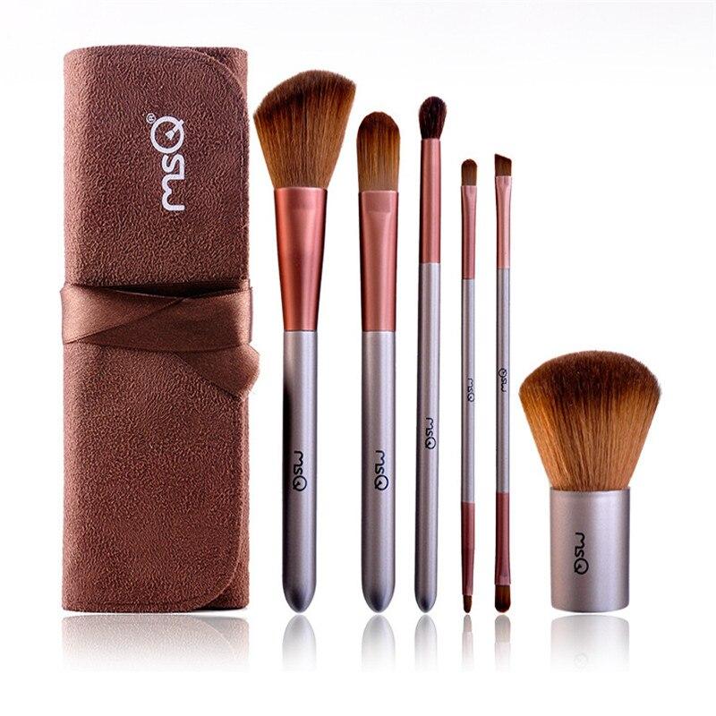 6 pcs Premiuim Makeup brush set High Quality Soft Hair ...