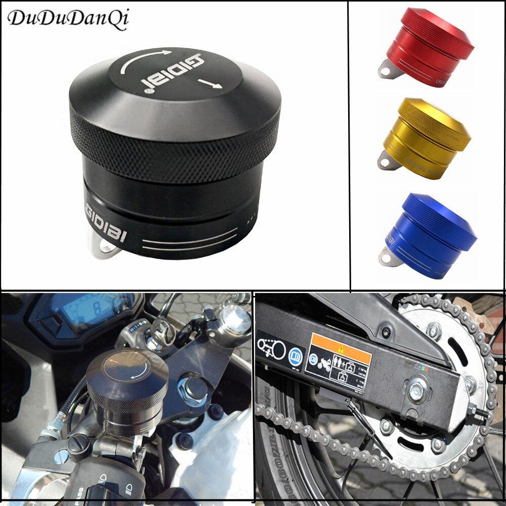 Huile de chaîne de moto/lubrificateur de chaîne pour Suzuki bandit 400/600/650 intruder v-strom GSX-S1000 GSX S1000/S750 GS500 M109r