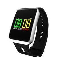 Продажа Водонепроницаемый TF1 Bluetooth 4.0 сердечного ритма крови Давление крови кислородом Sleep Monitor Сидячий напоминание Смарт часы для IOS Android