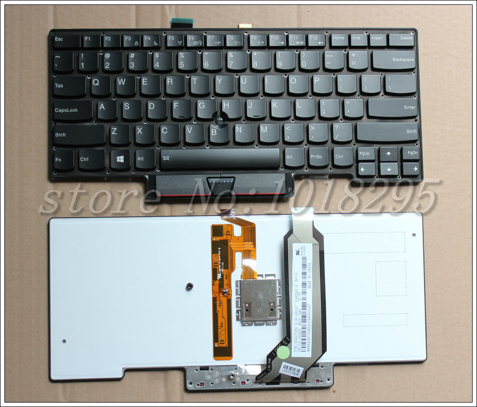 NEW Backlit Keyboard without Frame for Thinkpad X1 Carbon X1C 2013 MT 3443 3444 3446 3448 3460 3462 3463 US Black Free Shipping new for lenovo thinkpad carbon x1 gen 4 4th x1c 2016 laptop keyboard backlit russian no frame balck