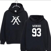 Kpop Monsta X Hoodies Women Men Harajuku Sweatshirt K-pop Wonho YOOKIHYUN I.M jo