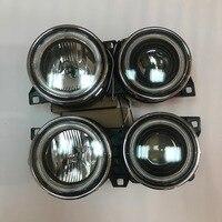 1 пара новых передняя фара свет фар для BMW E30 M40 318i 318is 325es 325i огни автомобиля Ассамблея дневного глаза ангела