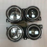 1 Pair New Front Head lamp light headlight For BMW E30 M40 318i 318is 325es 325i Car Lights Assembly Daytime Running angel eyes