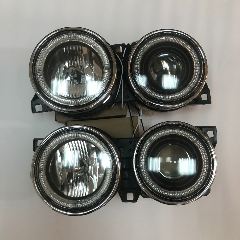 1 Pair New Front Head lamp light headlight For <font><b>BMW</b></font> <font><b>E30</b></font> M40 <font><b>318i</b></font> 318is 325es 325i Car Lights Assembly Daytime Running angel eyes image