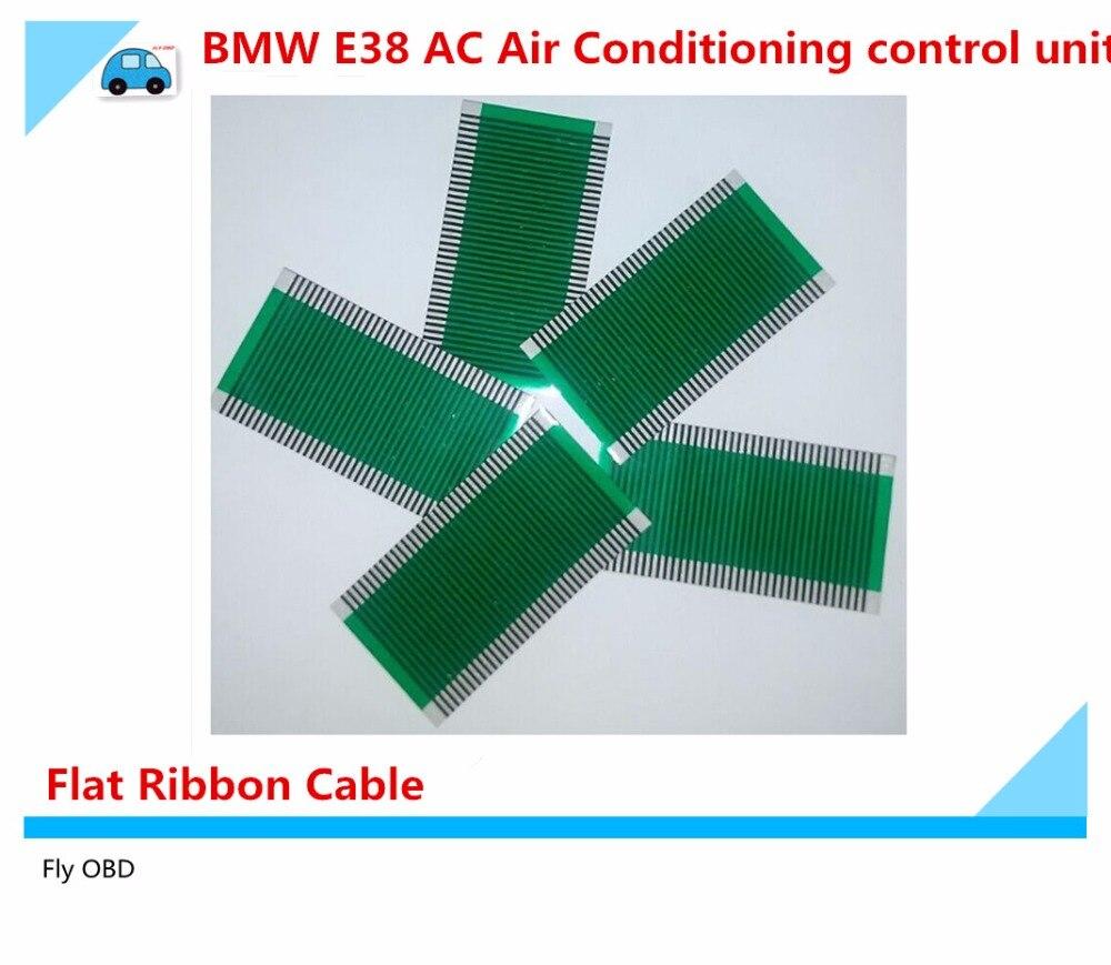 Prix pour 5 PCS/Lot Pour BMW E38 AC Climatisation Unité De Contrôle Climatique plat LCD Pixel Réparation Ruban Câble Livraison Shippment avec haute qualité