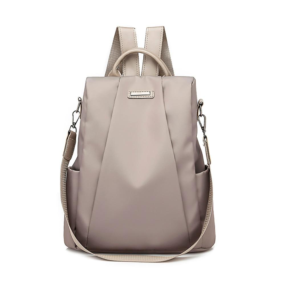 Casa Fabre mochila de viaje Bolsos De Mujer para mujer 2019 tela Oxford antirrobo mochila para ordenador portátil bolso escolar