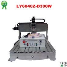 LY6040Z D300W 110V 220V 2 Versions CNC Machine for Engraving Drilling Millinging