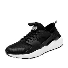 KERZER 2017 Running Shoes Mens Sneakers Black Red Gym Sport Shoes Breathable Summer Jogging Sneakers Men Cheap Athletic Trainers