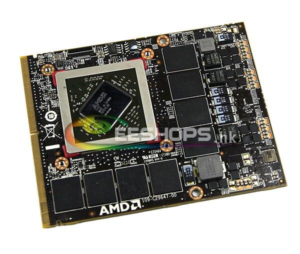 Cheap Best for Dell Alienware M15x M17x R2 R3 M18x R1 Laptop GDDR5 2GB Graphics Video Card AMD Radeon HD 6970M HD6970M VGA Board