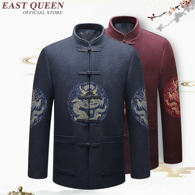 Traditional chinese clothing for men male jacket winter jackets coats male traditional chinese men clothing KK1966 H