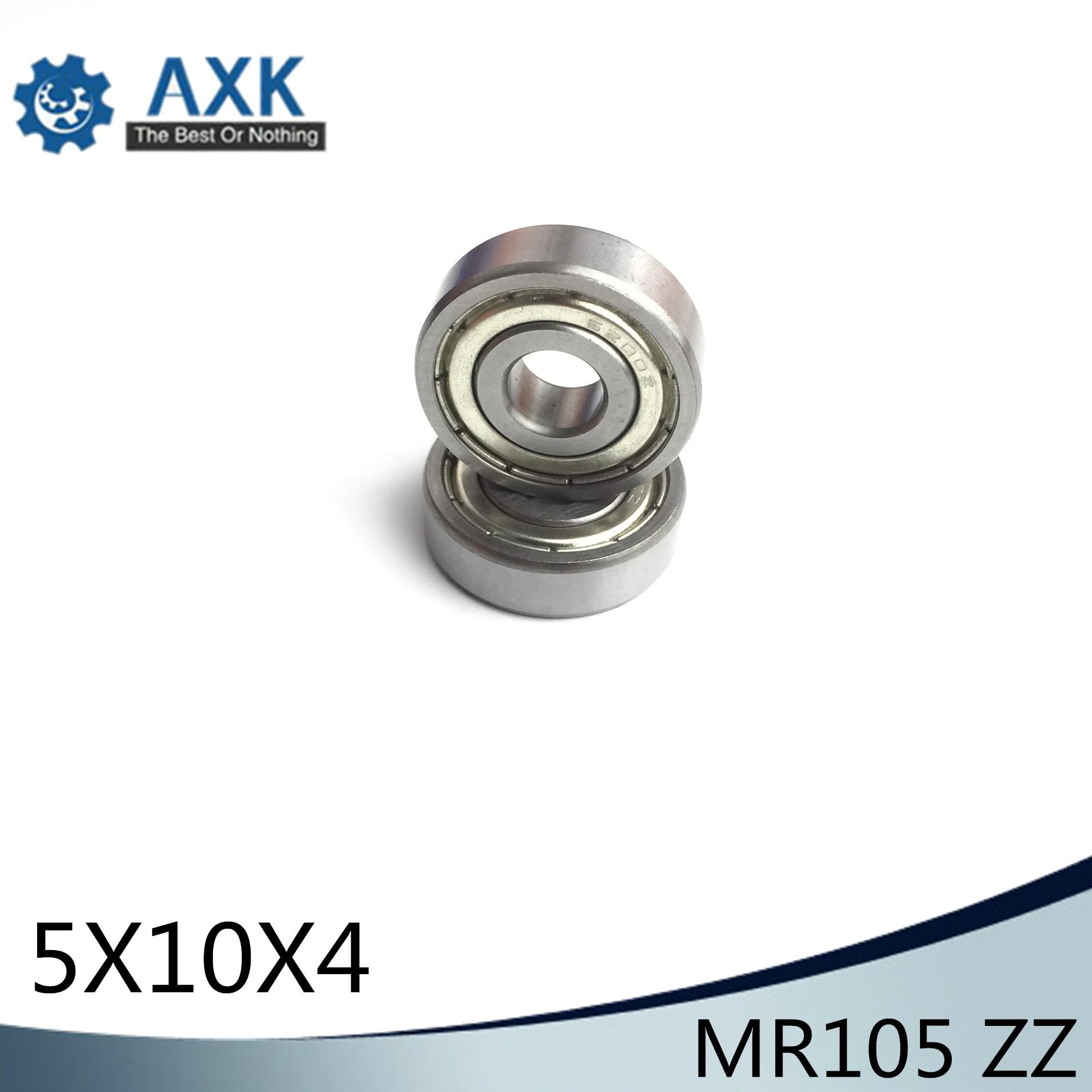 MR105ZZ  ABEC-1 (500PCS) 5X10X4mm  Miniature Ball Bearings L-1050ZZMR105ZZ  ABEC-1 (500PCS) 5X10X4mm  Miniature Ball Bearings L-1050ZZ