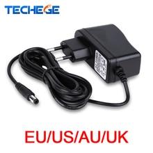 3meters Power Adapter AC100V-240V DC12V 1A Output Power Adaptor EU/AU/UK/US Plug Wall Charger DC 5.5mm x 2.1mm for CCTV Camera