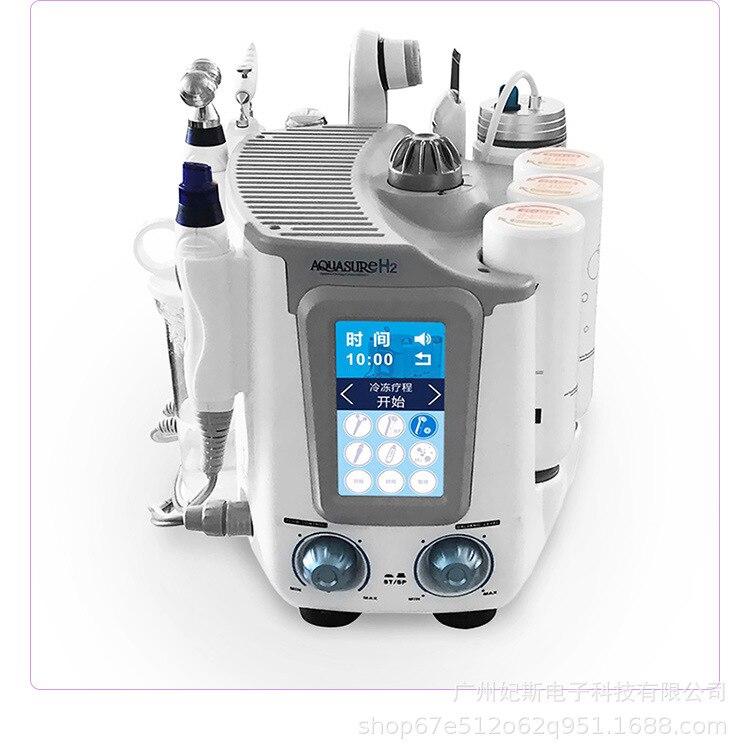 Newest 6 In 1 Hydroxy Soluble Facial Machine Aqua Peel Oxyhydrogen Deep Cleanser Hydra Multifunctional Beauty Spa Equipment