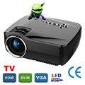 Original GP70 Mini HDMI Proyector de Cine En Casa proyector multimedia LED Proyector Full HD 1080 P de vídeo de Cine En Casa projektor