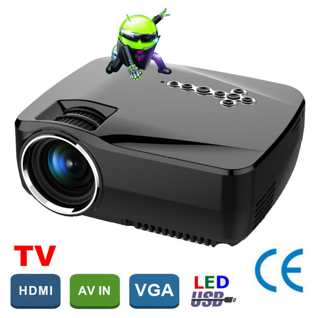 Original GP70 Mini Projector HDMI Home Theater beamer multimedia LED Proyector Full HD 1080P video Home Cinema projektor