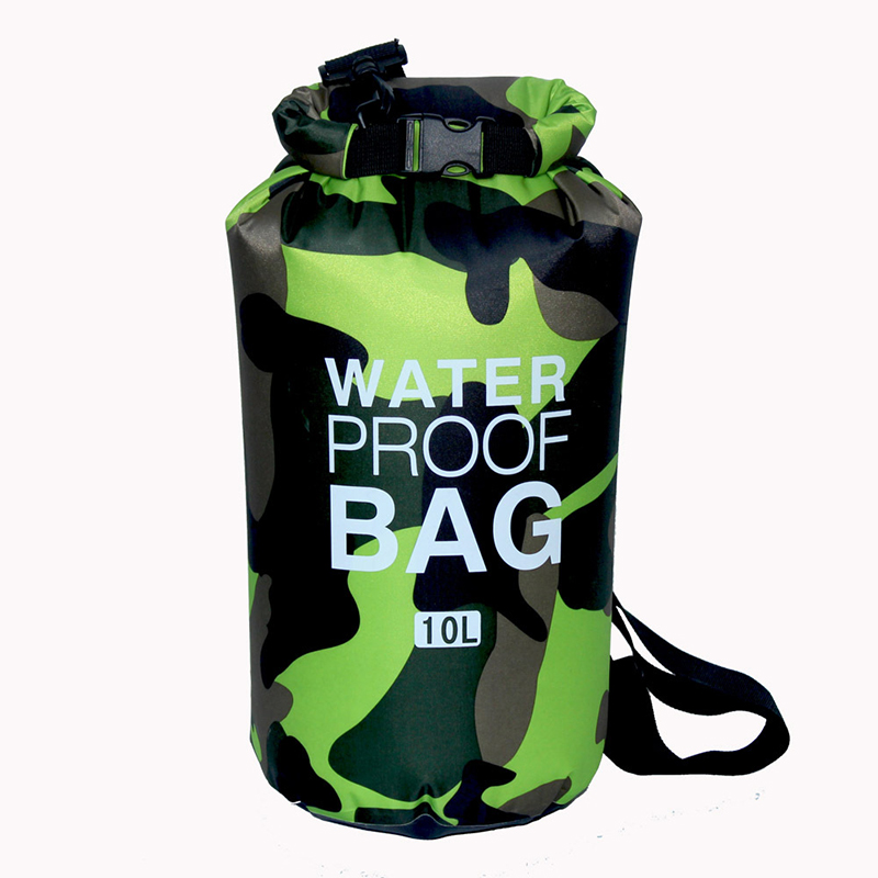 2L/5L/10L/15L/20L/30L Ocean Pack Waterproof Bag Dry Sack Outdoor Camouflage PVC Bags for Sport Swimming Camping Fishing Rafting acecamp outdoor sports waterproof dry floating bag for fishing surfing camping blue 20l