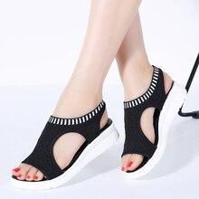 sandal shoes women sandals for 2019 summer new platform breathable Shoes ladies walking white black Women Beach