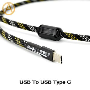 USB Type C Cable HiFi USB A To C Audio Data Cable For DAC Mobile Tablet
