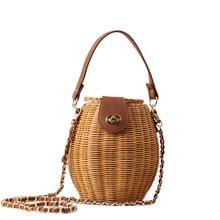 Summer Handbags Designer Hand Natural Rattan Straw Bag Hollow Crossbody Bag Bohemia Holiday Beach Flap Shoulder Bag Female curved straw flap bag