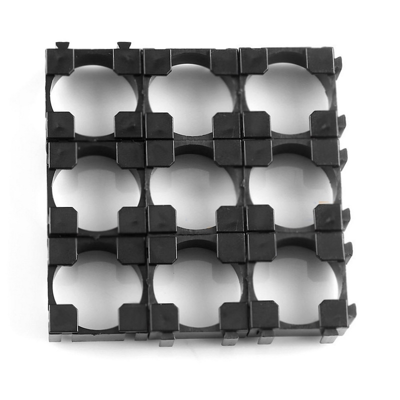 Mayitr 100pcs 18650 Battery Cell Holder Pro 18650 Battery Radiating Bracket FOR Battery Storage Safety Spacer in Battery Storage Boxes from Consumer Electronics