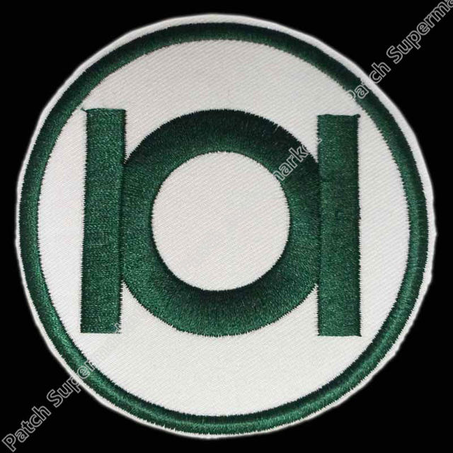 Green Lantern Corps Logo Dc Comics Tv Movie Costume Patch Iron On