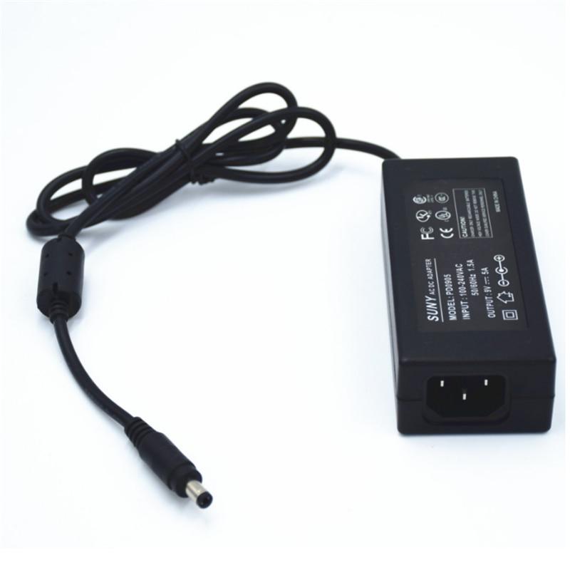 цена на 100-240Vac input ,45W 9V 5A power adapter,5.5*2.5 ,5.5*2.1 port CE UL listed transformer ,led power supply with AU/US/EU/UK Plug