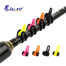 iLure 5 pcs/bag Plastic Fishing Rod Pole Hook Keeper for Lockt Bait Bucket Height Safety Holder Fishing tackle Accessories Pesca