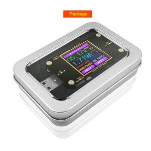 Image 5 - A3 USB tester צבע Bluetooth סוג דיגיטלי מד מתח dc מתח הנוכחי מד מד זרם גלאי כוח בנק מטען מחוון