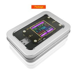 Image 5 - Voltmètre numérique, testeur USB A3 Bluetooth couleur type c voltmètre à tension cd indicateur de chargeur damcailles