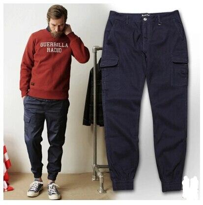 Jogger pants military army large pocket cargo pants casual men ...
