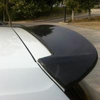 RDX style For Volkswagen VW Golf 7 VII MK7 carbon fiber rear roof trunk spoiler wing 2014~2016 (not for GTI and R)