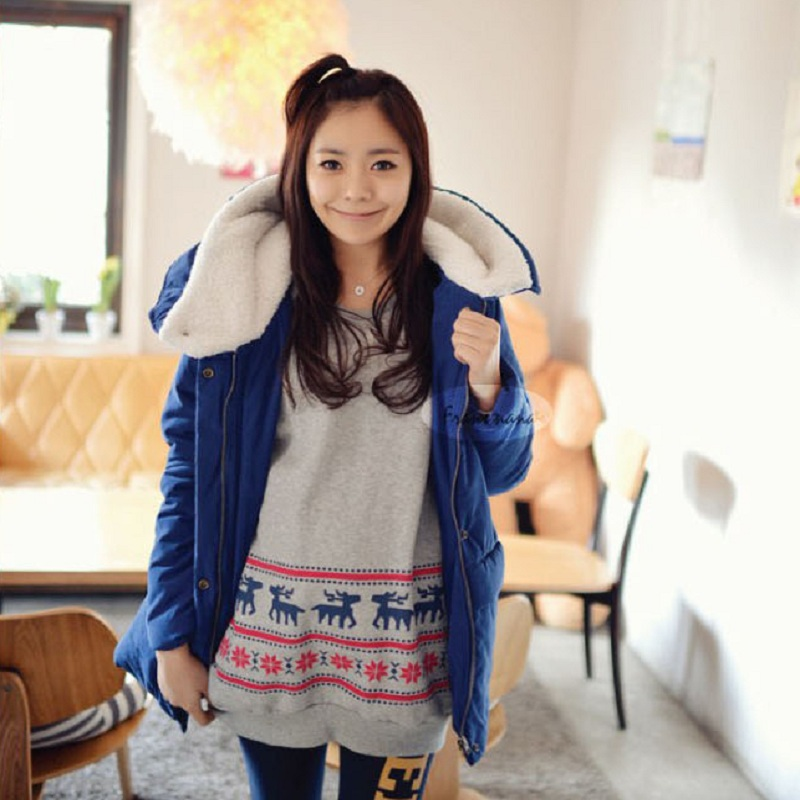 где купить New Winter Maternity Coat Maternity Warm Clothing maternity down Jacket  Pregnant clothing Women outerwear overcoat по лучшей цене